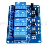 Релейный модуль 4-канальный 5V