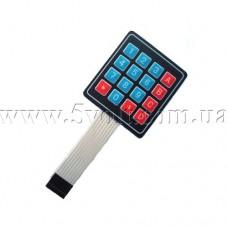 Клавиатура мембранная 4х4