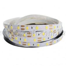 Светодиодная лента 5630 теплый белый 60 шт/м, 1м