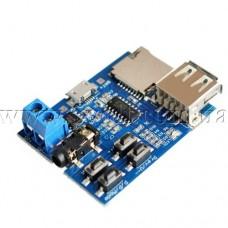 Модуль готового DIY MP3-плеера поддержка карт памяти USB-флешек