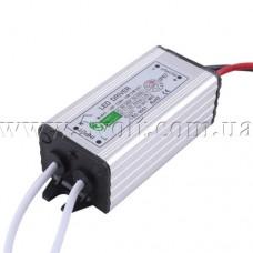 Драйвер для светодиодов 10W 900mA 7-12V вход AC90-265V влагозащищенный
