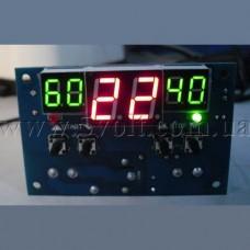 Терморегулятор-термостат программируемый W1401 питание 12В