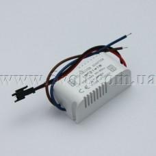 Драйвер светодиодов 80-265V 13-21x1W 300mA в корпусе