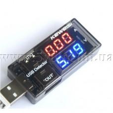 USB-тестер нагрузки двойной LED-дисплей
