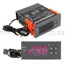 Терморегулятор-термостат программируемый в корпусе питание 12В