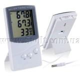 Термометр-гигрометр с внешним датчиком