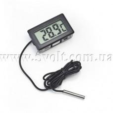 Панельный термометр с внешним датчиком