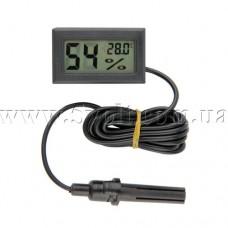 Панельный термометр-гигрометр с внешним датчиком