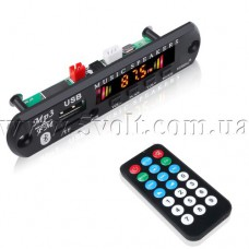 Панель USB MP3 FM Bluetooth 5.0 плеера 12V