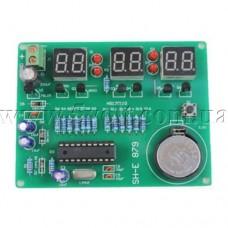 Конструктор Электронные часы на микроконтроллере вариант 2