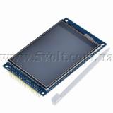 Дисплей 3.2 320х240 драйвер ILI9341 сенсор XPT2046