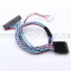 Кабель LVDS интерфейса 2ch 6bit 40pin I-PEX20453
