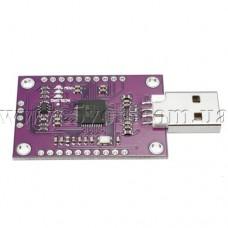 Мультисистемный программатор-адаптер FT232H