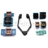 Комплект из 8 адаптеров для программаторов TL866CS, TL866A, EZP2010 и других