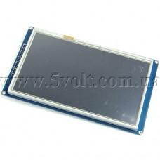 Дисплей 7.0 800х480 драйвер SSD1963 сенсор XPT2046