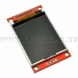 Дисплей 1.8 160х128 на контроллере ST7735S красный
