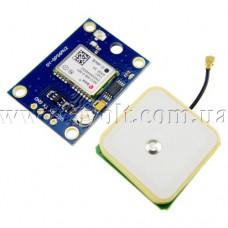 GPS модуль GY-GPS6MV2 с антенной