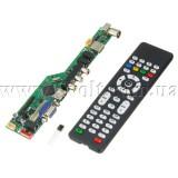 Контроллер монитора LCD скалер T.RD8503.03 на чипе RDA8503 SKR.03 с HDMI USB