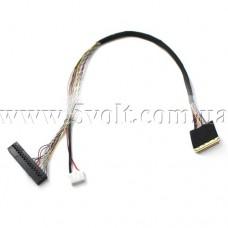 Кабель LVDS интерфейса 1ch 6bit 30pin 0.5mm