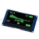 Дисплей OLED 2.42 зеленый драйвер SSD1309 интерфейс I2C